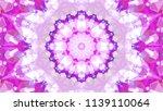 geometric design  mosaic of a... | Shutterstock .eps vector #1139110064