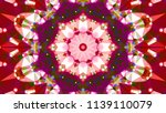 geometric design  mosaic of a... | Shutterstock .eps vector #1139110079