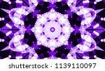 geometric design  mosaic of a... | Shutterstock .eps vector #1139110097