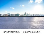 empty square with panoramic... | Shutterstock . vector #1139113154