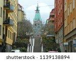 sweden  stockholm  view of the...   Shutterstock . vector #1139138894