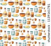 baking pastry prepare cooking... | Shutterstock .eps vector #1139161781