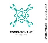 tools company logo design... | Shutterstock .eps vector #1139169215