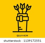 quiver icon signs | Shutterstock .eps vector #1139172551
