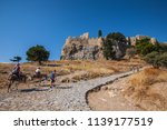 greece  rodes lindos | Shutterstock . vector #1139177519