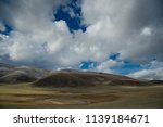 western mongolia. the endless... | Shutterstock . vector #1139184671