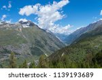 mountain landscape  in the... | Shutterstock . vector #1139193689