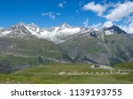 mountain landscape  in the... | Shutterstock . vector #1139193755