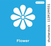 flower vector icon isolated on... | Shutterstock .eps vector #1139199551