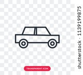 car vector icon isolated on... | Shutterstock .eps vector #1139199875