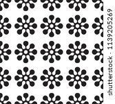 vector seamles pattern of round ... | Shutterstock .eps vector #1139205269