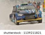 covasna  romania   january 19... | Shutterstock . vector #1139211821