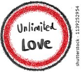 symbol of unlimited love | Shutterstock . vector #1139252954