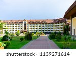 sanatorium in the carpathian... | Shutterstock . vector #1139271614