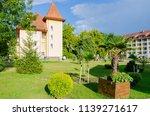 sanatorium in the carpathian... | Shutterstock . vector #1139271617