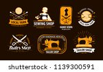 tailoring  tailor shop logo or... | Shutterstock .eps vector #1139300591