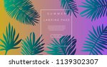 abstract holographic background ... | Shutterstock .eps vector #1139302307