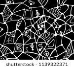 web doodle dark texture pattern ...   Shutterstock .eps vector #1139322371