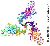 jellybean floral  vector...   Shutterstock .eps vector #1139322377