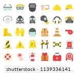 personal protective equipment... | Shutterstock .eps vector #1139336141