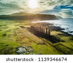 an aerial view over ahu... | Shutterstock . vector #1139346674