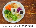 healthy rice food for healthy... | Shutterstock . vector #1139352434