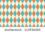 Argyle Patterned Background  ...