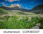landscape wallpaper hd  kashmir ... | Shutterstock . vector #1139383337