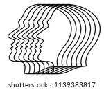 illustration of the abstract... | Shutterstock . vector #1139383817