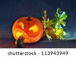 Halloween Pumpkin  Scary Jack ...