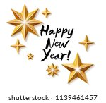 happy new year background with... | Shutterstock . vector #1139461457