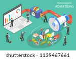 flat isometric concept of... | Shutterstock . vector #1139467661