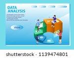 3d infographic business data... | Shutterstock .eps vector #1139474801