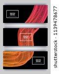 trendy geometric background.... | Shutterstock .eps vector #1139478677