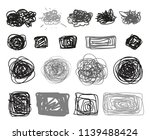 chaos shapes for design.... | Shutterstock .eps vector #1139488424