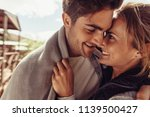 close up of man and woman close ... | Shutterstock . vector #1139500427