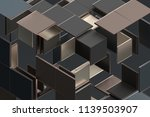 abstract 3d rendering of... | Shutterstock . vector #1139503907