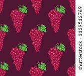 vector seamless pattern of... | Shutterstock .eps vector #1139512769