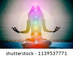 Yoga Meditation Woman Pose Wit...