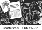 example of page design of a...   Shutterstock .eps vector #1139547014
