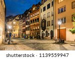 one of the picturesque streets... | Shutterstock . vector #1139559947