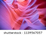 famous antelope canyon near... | Shutterstock . vector #1139567057