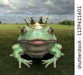 Frontal View Frog Prince Kissing - Fine Art prints