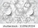 abstract vector technology... | Shutterstock .eps vector #1139619224