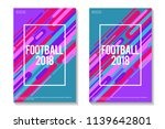 football 2018 colorful... | Shutterstock .eps vector #1139642801