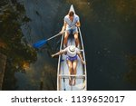 high angle of a young couple... | Shutterstock . vector #1139652017