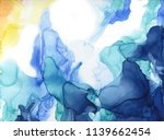 abstract color ink background.... | Shutterstock .eps vector #1139662454