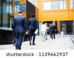 rear view of row of...   Shutterstock . vector #1139662937