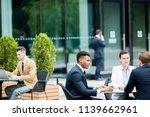 several young intercultural...   Shutterstock . vector #1139662961