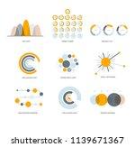 business info visualisation...   Shutterstock .eps vector #1139671367